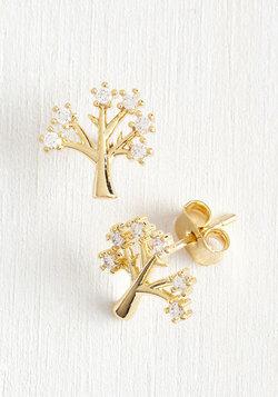Make Like a Tree and Gleam Earrings
