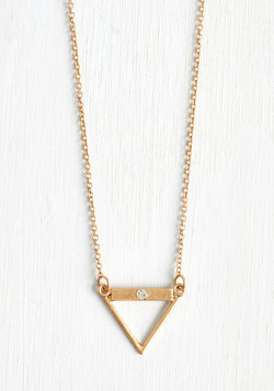 Equilateral Thinking Necklace