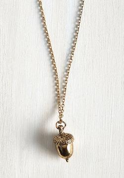Oak-en of Gratitude Necklace