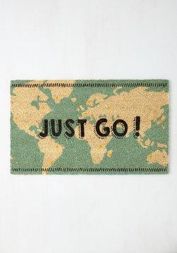 Overseas What I Mean? Doormat