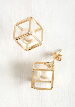 Geometric Glam Earrings