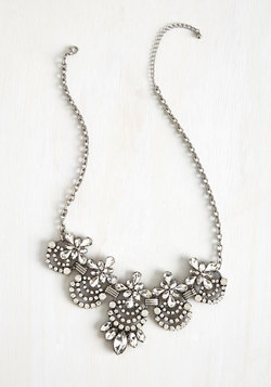 Hit the Town Stunning Necklace in Rhinestone