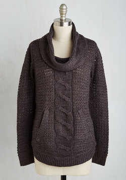 Pullover and Above Sweater