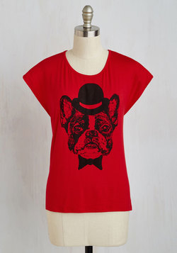 Ready for Your Close-Pup Top