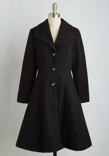 Dash to the Cultural District Coat $99.99 AT vintagedancer.com