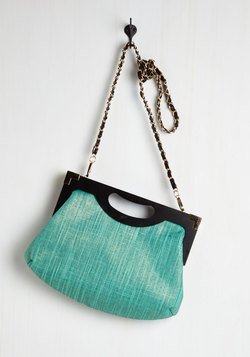 Tropical Tendencies Bag in Seaglass