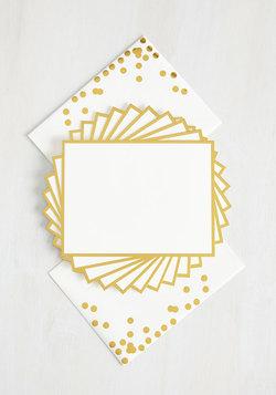 Elegant Exchange Notecard Set