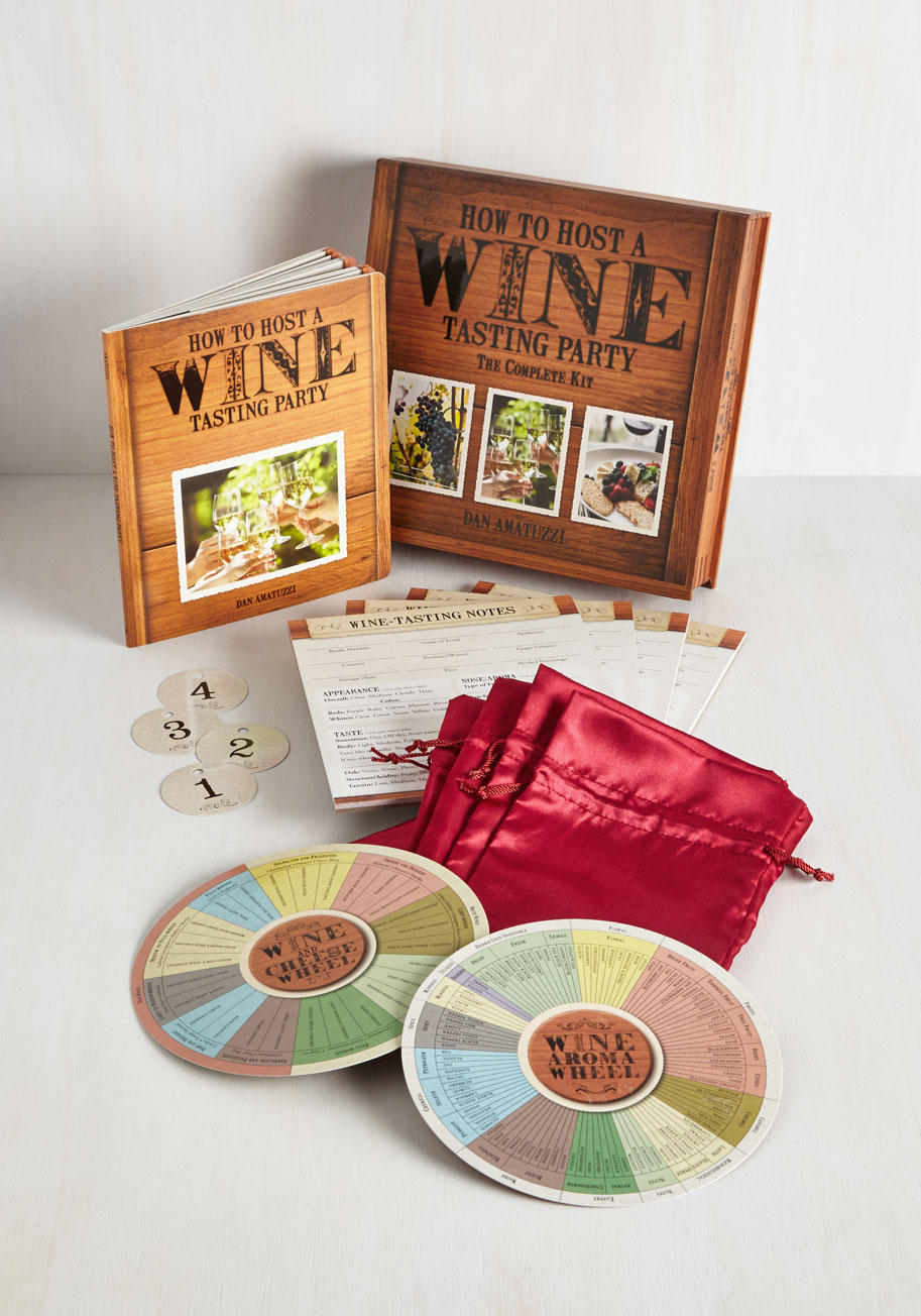 How to Host a Wine Tasting Party Kit