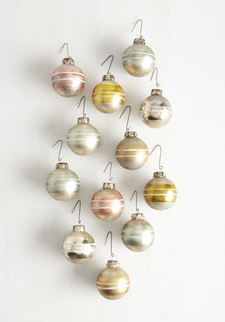 Timely Trimmings Ornament Set
