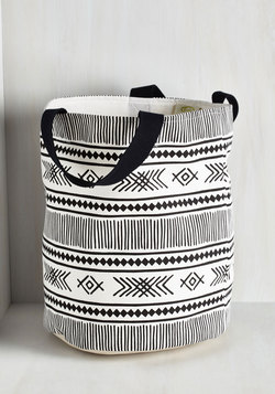 Crosshatch a Plan Laundry Bag