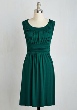I Love Your Dress in Forest Green