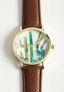 Cacti and Time Again Watch