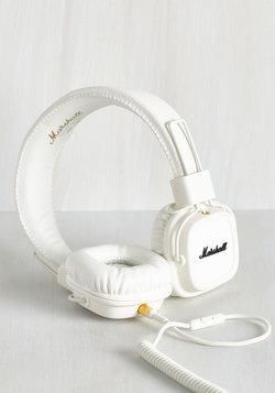 Attractive Listening Headphones in White