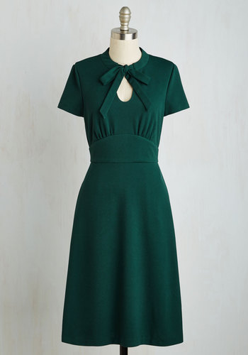 Archival Revival Dress in Pine $89.99 AT vintagedancer.com