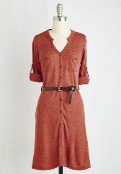 T.A.-Okay Dress in Paprika