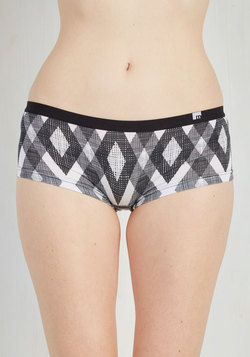 The Tidal Countdown Undies in Crosshatch