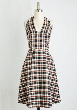 Scholastic Classic Dress in Mini Plaid