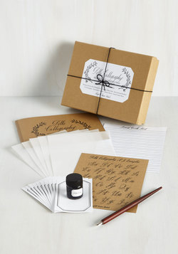 See You on the Script Side Calligraphy Kit