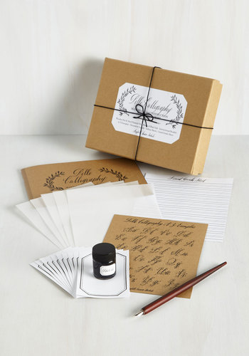 See You On The Script Side Calligraphy Kit Mod Retro