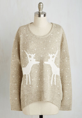 Know All the Antlers Sweater