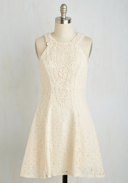 Lace-Time Continuum Dress