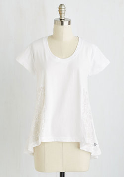 Zest and Relaxation Top in White