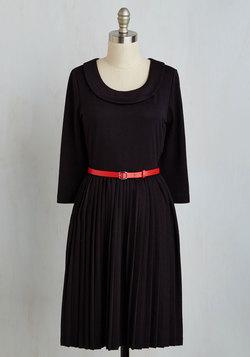 Presentation Perfection Dress in Black