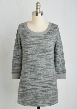 Good Crafternoon! Top in Grey