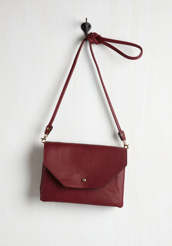 Set Out in Style Bag in Burgundy