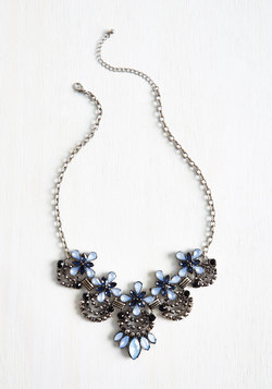 Hit the Town Stunning Necklace in Dew