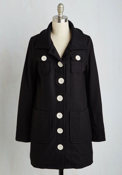 Deja Brew Coat in Black