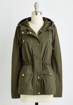 Woods You Be Mine? Jacket in Olive