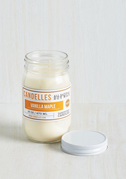 Take Scent-er Stage Candle in Vanilla Maple