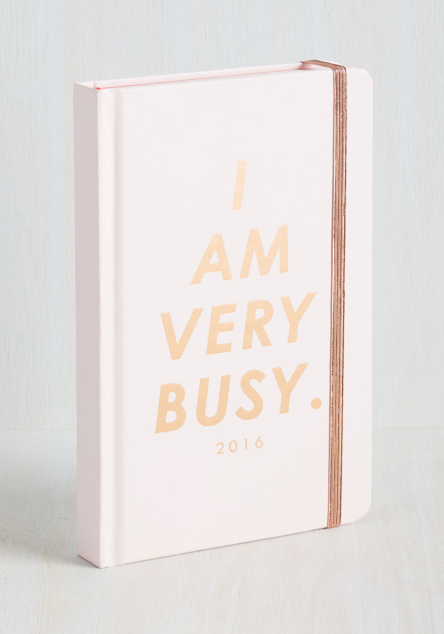 I Am Very Busy Planner