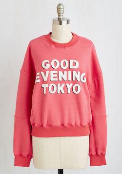 Fancy Greeting You Here Sweatshirt