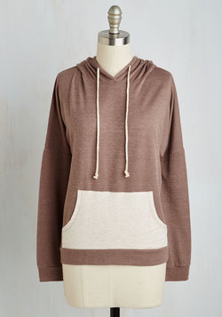 Contrast, Present, and Future Hoodie