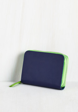 Coin the Club Change Purse in Navy