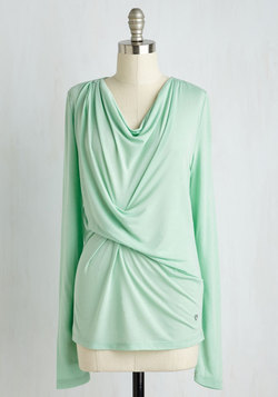 Early Morning Musings Lounge Top in Pistachio
