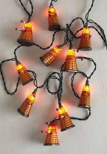 Aesthetically Engineered Mutants String Lights | Mod Retro Vintage Decor Accessories |