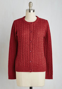 Aesop's Cables Cardigan