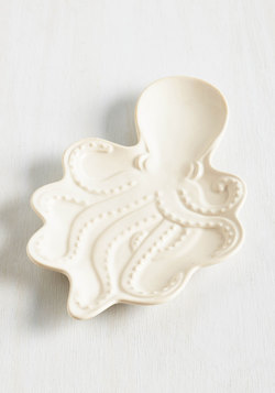 Welcome With Ocean Arms Spoon Rest