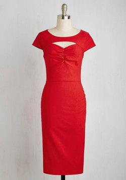 Dear Fiery Dress in Rouge