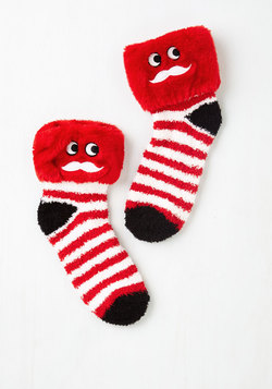 Laughing All the Way Slipper Socks