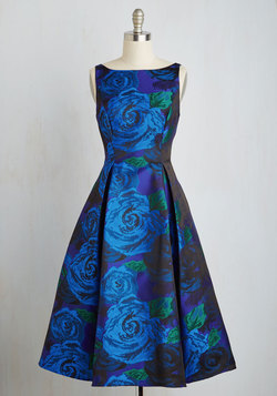Extraordinary Epicure Dress in Sapphire