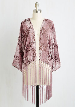 I'm Awe Yours Jacket in Dusty Rose