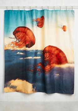 Surfin' the Nettle Shower Curtain