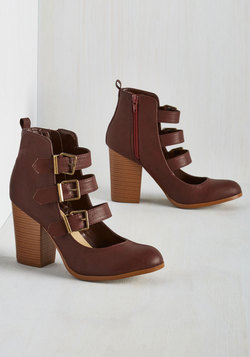 To Top-Notch It All Off Heel