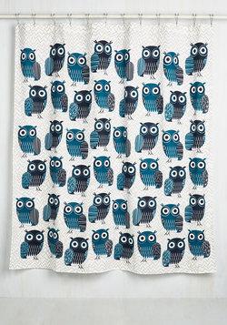 I've Heard It Owl Before Shower Curtain