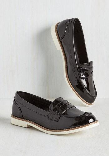 Slick Fix Loafer in Black