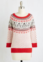 Oh Snow Cozy Sweater | Mod Retro Vintage